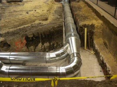 In ground duct for plasma table, Wamego, KS