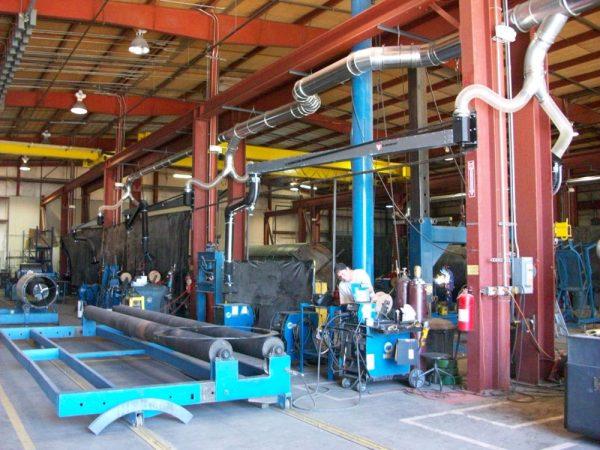 Source capture weld fume 3, Winfield, KS